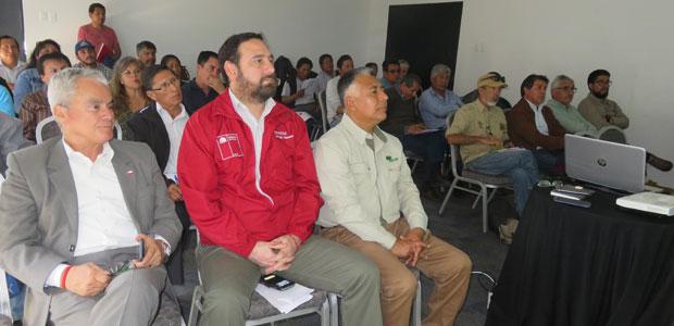 La jornada por la Reserva de Biosfera Lauca, permitió también firmar el segundo Acuerdo por la gestión sustentable en el marco del proyecto Manejo Sustentable de la Tierra.