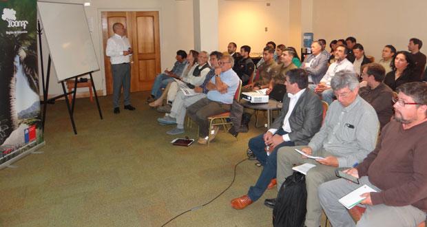 La instancia informativa se llevó a cabo en el hotel Marina del Rey, en Viña del Mar, y congregó a propietarios de predios, consultores forestales y representantes de organismos con potestad fiscalizadora.