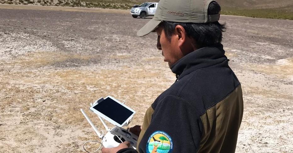 El proyecto fue presentado por la Sección de Monitoreo e Información del Sistema Nacional de Áreas Silvestres Protegidas del Estado (SNASPE) de la Gerencia de Áreas Silvestres Protegidas