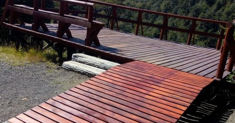 Rampla inclusiva para el mirador Los Volcanes.