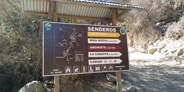 El Parque Nacional La Campana mantiene suspendida la atención de público, como medida preventiva frente al COVID-19.