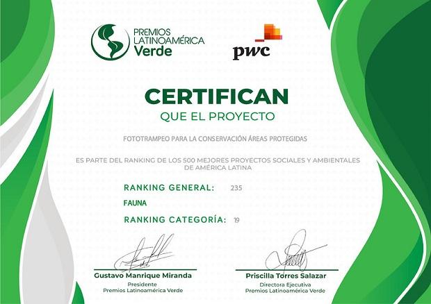 Los Premios de Latinoamérica Verde todos los años destaca los 500 mejores proyectos sociales y ambientales de esta parte del mundo.