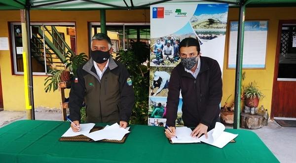 El accionar conjunto se estableció mediante un convenio para actuar en la comuna de Putre, en alianza además con el municipio local.
