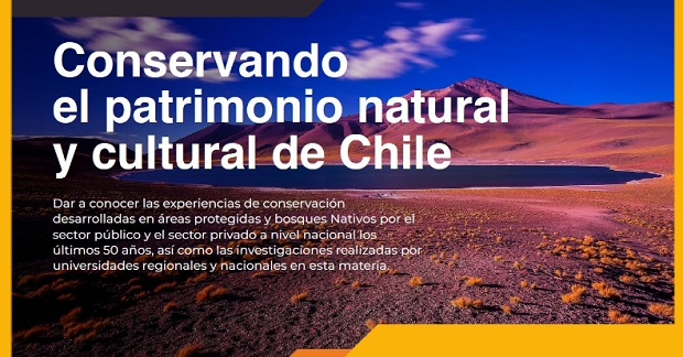 Seminario Online 'Conservando el patrimonio natural y cultural de Chile'