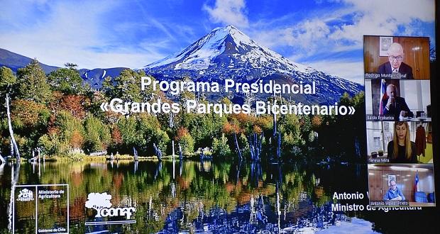 La iniciativa Grandes Parques Bicentenarios fue presentada en el marco del Comité Ministerial Ciudad, Vivienda y Territorio.