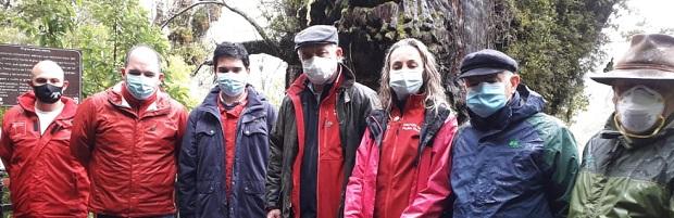 Ministros Walker e Isamit encabezan reapertura del Parque Nacional Alerce Costero en Los Ríos