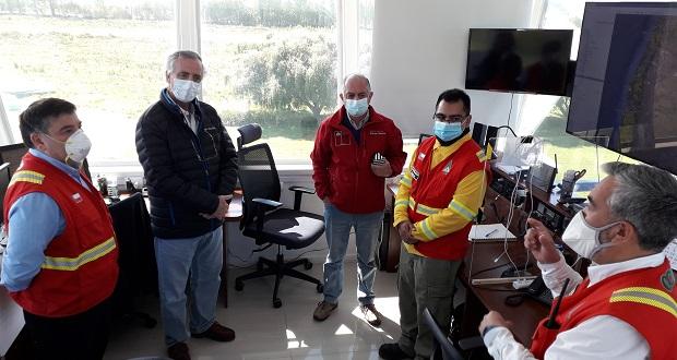 La Central de Operaciones del Departamento de Protección contra Incendios Forestales (DEPRIF), de CONAF Los Ríos, tiene sus instalaciones en el Aeródromo Las Marías, comuna de Valdivia.