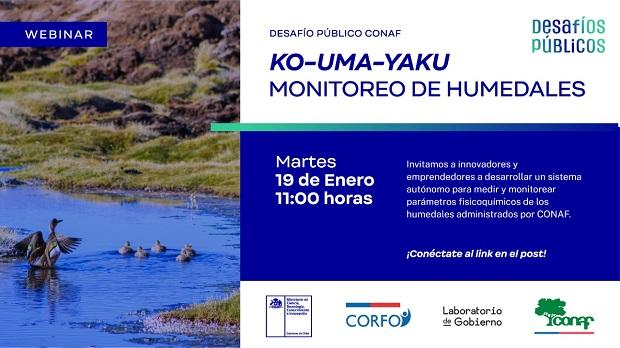 Desafío Público CONAF Monitoreo de Humedales