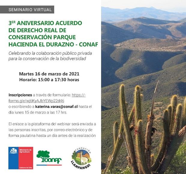 3er Aniversario Acuerdo de Derecho Real de Conservación