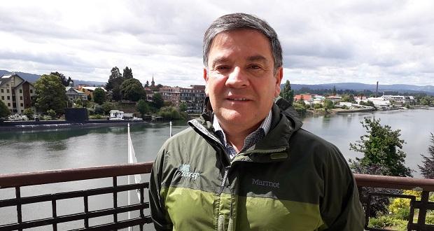 Director de CONAF Los Ríos, Oscar Droguett.