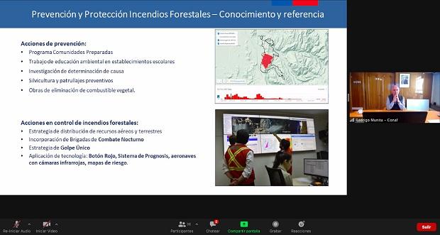 Este convenio tiene su gestación en el año 2017, luego que un grupo de bomberos de Colombia viniera a Chile para colaborar en el combate de los grandes incendios forestales de ese año y que afectaron una superficie de 600 mil hectáreas