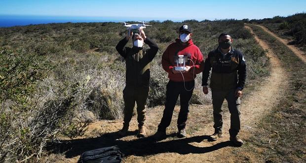 La prueba con este sensor se llevó a efecto en el Parque Nacional Bosque de Fray Jorge, de la Región de Coquimbo, sobre la desembocadura del río Limarí y parte de los bosques hidrófilos relictuales de esta área protegida.