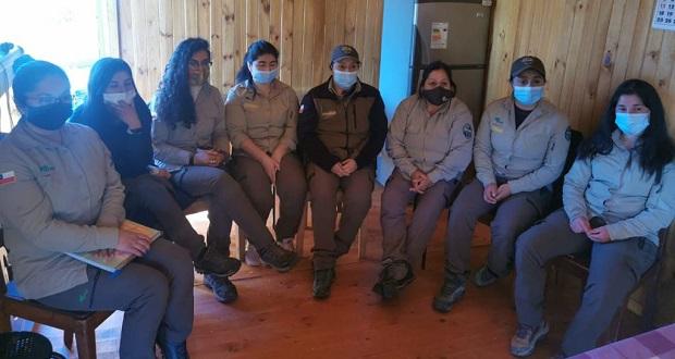 El encuentro se desarrolló en línea y tuvo tan sólo en su primer día de realización, más de 200 personas, mujeres guardaparques, de Latinoamérica.